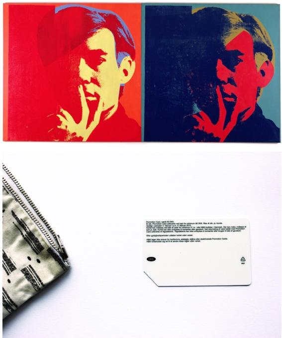 Warhol and the Plastic card